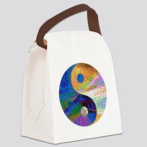 yinyangdarkmargin Canvas Lunch Bag